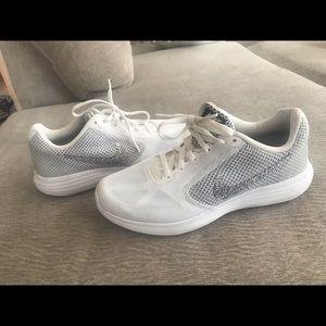 Blingy Nike revolution 3 shoes. Women's.
